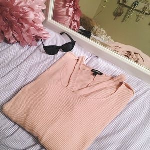 Express Soft Light Peach Long Sleeve
